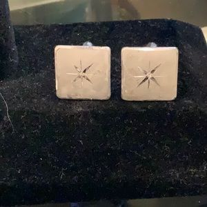 BEAUTIFUL VINTAGE STERLING SILVER CUFF LINKS
